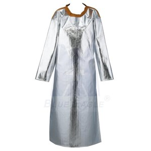 SUPPLIER TOOLS SAFETY The BLUE EAGLE ALUMINIZED APRON WITH SLEEVES AL6 At CHEAP PRICES