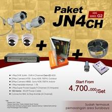 PAKET JN4CH DVR JUAN 4 CH HDD Sony-HDIS Harga Murah & Pemasangan Area Sby