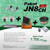 PAKET JN8CH DVR JUAN 8 CH HDD HDIS Series Gen-01 Murah Plus Pemasangan