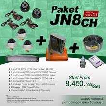 PACKAGE JN8CH DVR 8 Channel HDD JUAN EFFIO Gen-01 low price