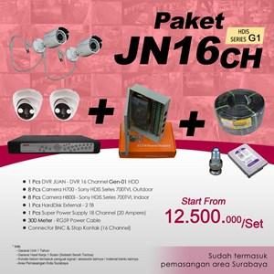 Dari PAKET JN16CH DVR JUAN 16 CH HDD HDIS Series Gen-01 Murah Plus Pemasangan 0