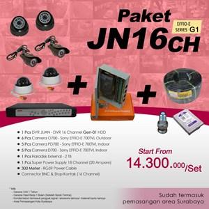 Dari PAKET JN16CH DVR JUAN 16 Channel HDD EFFIO Gen-01 Harga Murah 0