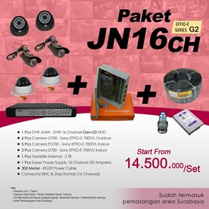 From PACKAGE DVR 16 Channel JUAN JN16CH HDD EFFIO Gen-02 at cheap prices 0
