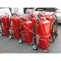 Troli/Carry Wheel/Mobile Unit Alat Pemadam Api Kebakaran Berat/Apab Cap. 25/ 35/ 45/ 50/ 60/ 75/ 80 Kg Abc Drychemical Powder Murah 5
