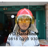 HELM PMK + SENTER KEPALA FLASHLIGHT HELM SAFETY SATU SET MURAH 1