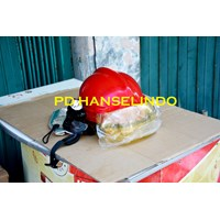 Distributor HELM PMK + SENTER KEPALA FLASHLIGHT HELM SAFETY SATU SET MURAH 3