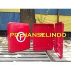 FIRE HOSE BOX KOTAK SELANG PEMADAM BARU BAHAN FIBER HARGA MURAH 2