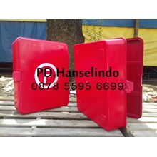 FIRE HOSE BOX HOSE EXTINGUISHER NEW FIBER MATERIAL