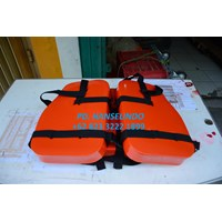 PELAMPUNG WORK VEST THREE PIECES PERLENGKAPAN MARINE SAFETY MURAH 1