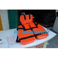 Distributor PELAMPUNG WORK VEST THREE PIECES PERLENGKAPAN MARINE SAFETY MURAH 3
