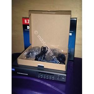 Paket Dvr Standalone H264 Kamera Cctv 4 Channel