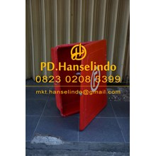 FIRE HOSE BOX BAHAN FIBER