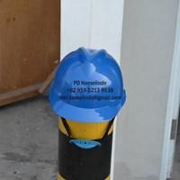 HELM SAFETY PROYEK BAHAN PLASTIK INDUSTRI WARNA BIRU MERK VGS MURAH 1