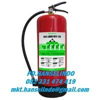 FIRE EXTINGUISER PORTABEL GAS HCFC-123 9 KG PEMADAM API TABUNG APAR  1