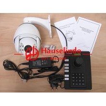 KAMERA CCTV PTZ PAN TILT ZOOM 10X OPTICAL ZOOM SONY 700TVL OSD JOYSTICK CONTROLLER MURAH