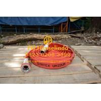 SELANG PEMADAM KEBAKARAN FIRE HOSE RUBBER OSW GERMAN 2.5 X 20 + COUPLING MACHINO 1