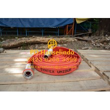 SELANG PEMADAM FIRE HOSE RUBBER OSW GERMAN 2 X 20 + COUPLING MACHINO