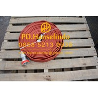 SELANG PEMADAM KEBAKARAN FIRE HOSE RUBBER CHINA 2 X 60 M 16 BAR 1