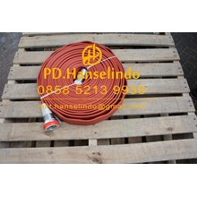 SELANG PEMADAM KEBAKARAN FIRE HOSE RUBBER CHINA 2 X 20 M 16 BAR