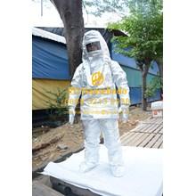 RGF-F-H-I FIREMAN SUIT SAFETY BAJU PEMADAM KEBAKARAN JAKET TAHAN API 1000C