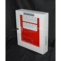 FIRE ALARM ANNOUNCIATOR CONTROL PANEL BAHAN ABS 10 ZONE MURAH BERMUTU