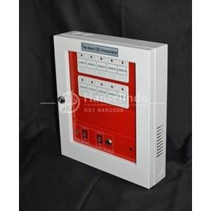 From FIRE ALARM ANNOUNCIATOR CONTROL PANEL BAHAN ABS 10 ZONE MURAH BERMUTU 0