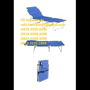 ALAT KESEHATAN DAN MEDIS FOLDING BED (ALUMINUM) - TYPE RC-B-6A RONG CHANG