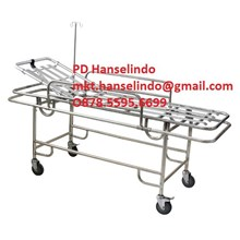 RANJANG BESI ALAT MEDIS STAINLESS RESCUE BED - TYPE RC-B4 RONG CHANG