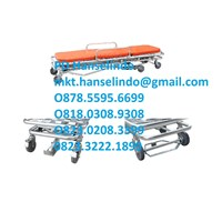 Distributor RANJANG PASIEN ALUMINUM MULTIFUCTIONAL AMBULANCE STRETCHER - TYPE RC-A4 RONG CHANG 3