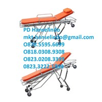 Jual RANJANG PASIEN ALUMINUM MULTIFUCTIONAL AMBULANCE STRETCHER - TYPE RC-A4 RONG CHANG 2