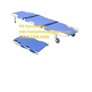 TANDU FOLDING STRETCHER (WITH CASTOR) - TYPE RC-F8 RONG CHANG