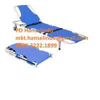 TANDU MEDIS FOLDING STRETCHER WITH CASTOR BACK ADJUSTABLE TYPE RC-F9 RONG CHANG 1