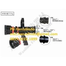 MASS FLOW ADJUSTABLE RECOILLESS MULTIFUNCTION WATE