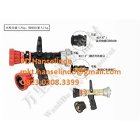 WATER GUN FIREFIGHTER RECOILLESS SMALL FLOW MULTIFUNCTION SPRAY NOZZLE GUN