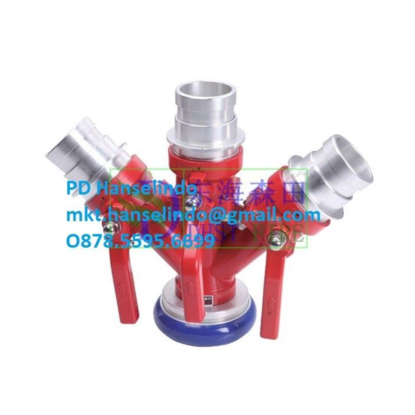 FIRE HYDRANT CONNECTION FM THREE WATER DIVIDER A TYPE