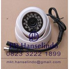 Kamera CCTV White Indoor Dome Plastic Model Keong HDIS Korean Chipset HT 700TVL 2