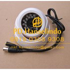 Kamera CCTV White Indoor Dome Plastic Model Keong HDIS Korean Chipset HT 700TVL 1