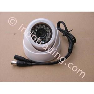 Dari Kamera CCTV White Indoor Dome Plastic Model Keong HDIS Korean Chipset HT 700TVL 2