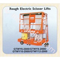 Jual Rough Electrik Scissor Lift Gtwy