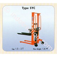 Jual Semi Electrik Stacker Syc