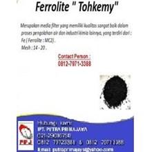 Jual Media Filtrasi Ferrolite Tohkemy - Filter Air