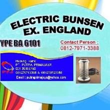 Electric Bunsen Ex. England - Alat Laboratorium Umum