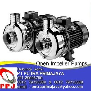 Open Impeller Stainless Steel