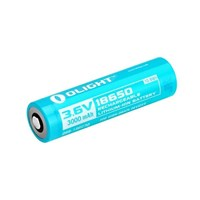 Baterai Li-ion Rechargeable OLIGHT customised 18650 3000mAh Lithium Ion Battery