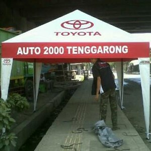 TENDA PIRAMID DAN PROMOSI