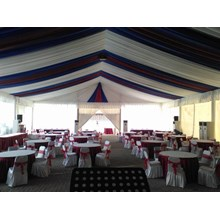 Decorative Tassel Party Tent 2