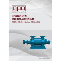 Pompa centrifugal GPA Multistage GDG Series