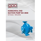 Pompa Sentrifugal  GPA end suction GH series 1