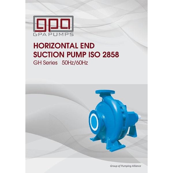 Pompa Sentrifugal  GPA end suction GH series
