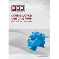 Pompa Centrifugal  GPA split case GSC series
